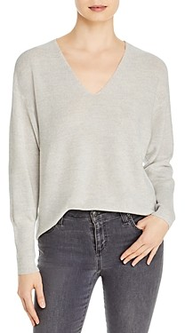 Eileen Fisher Wool V-Neck Sweater