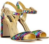 Dolce & Gabbana Sequinned sandals