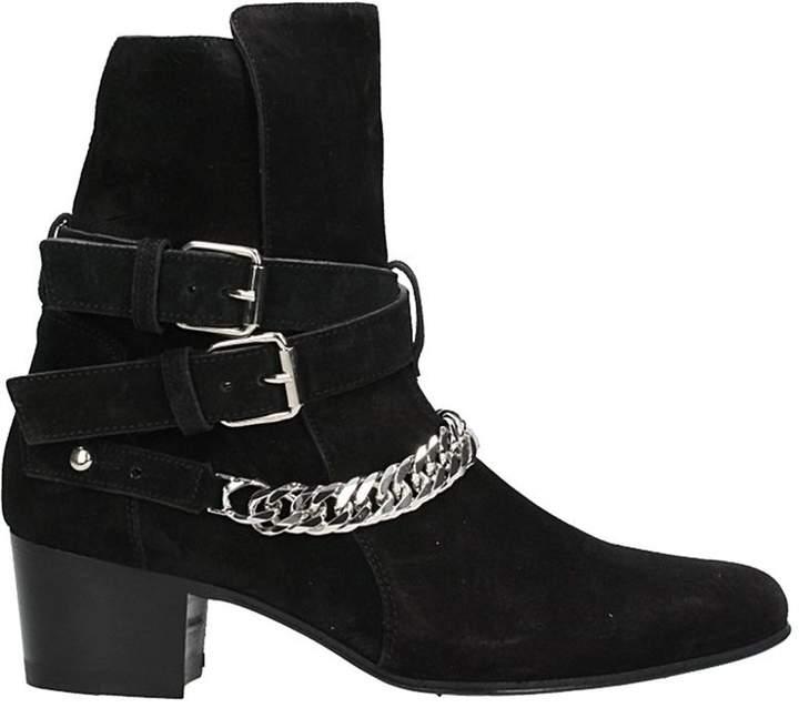 Amiri Buckle Chain Boot