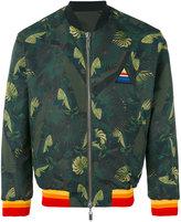 Iceberg reversible palms bomber jacket - men - Polyester/Polyamide/Polyurethane - 46