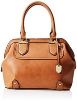 London Fog Kensington Satchel Framed Bag