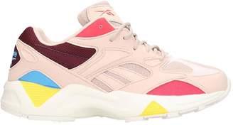 Reebok Aztrek 96 Sneakers In Rose-pink Leather