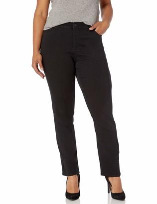 Jones New York Women's Plus Size Lexington Straight Denim Jean