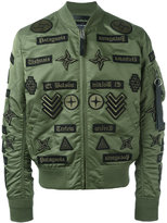 Marcelo Burlon County of Milan Roldan Alpha Ma-1 bomber jacket - men - Nylon - S