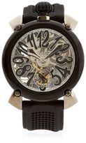 GaGa MILANO Crystal Pvd Skeleton Watch