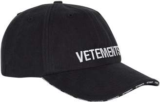 Vetements Embroidered-Logo Cap