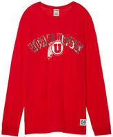 PINK University Of Utah Long Sleeve Campus Tee