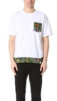 White Mountaineering Tropical Pattern Printed Tee