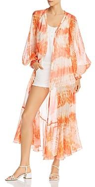 Rococo Sand Tie-Dyed Kimono Dress