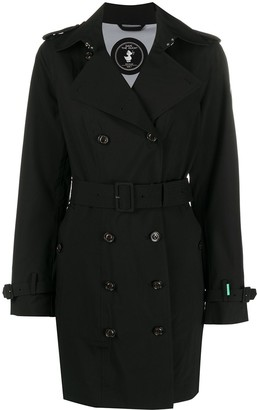 Save The Duck Belted Trench Coat