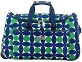 Jonathan Adler Circles Rolling Duffel Bag