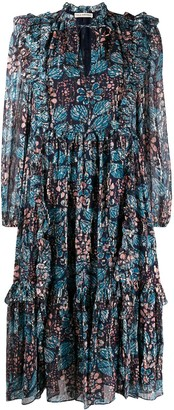 Ulla Johnson Seraphina printed midi dress