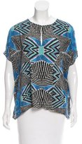 Mara Hoffman Abstract Print Top
