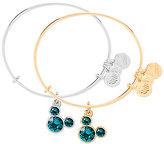 Disney Mickey Mouse Birthstone Bangle by Alex and Ani - December