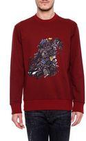 Lanvin Drive Print Sweatshirt