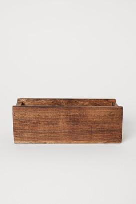 H&M Wooden Spice Box