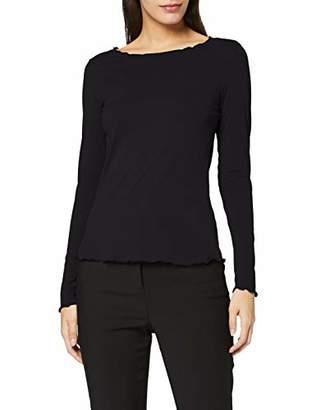 Comma Women's 81.911.31.3366 Longsleeve T-Shirt,6 (Size: 38)