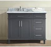 """Birch Lane Newport 42"""" Single Bathroom Vanity Set Heritage Base Finish: Charcoal"""