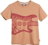 City Threads Electric Guitar Tee (Baby) - Faded Orange-18-24 Months