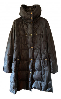 Henry Cotton Grey Polyester Coats