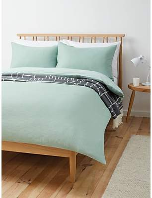 House by John Lewis Waffle Duvet Cover Set