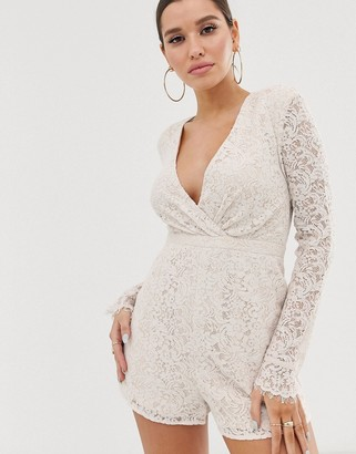 The Jetset Diaries Voyage Lace Romper
