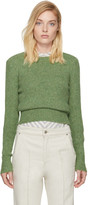 Isabel Marant Green Erwan Sweater