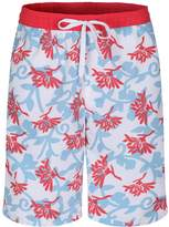 Soul Star Men's Floral Print Swim Shorts