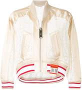 Miharayasuhiro lace bomber jacket