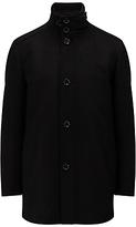 Hugo Boss Boss Green C-coxtan Wool Coat, Black