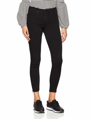 Name It NOISY MAY Women's Nmkimmy Nw Ankle Zip Jeans Black Noos 31W / 32L
