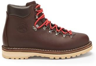 Diemme Roccia Vet Leather Hiking Boots - Burgundy