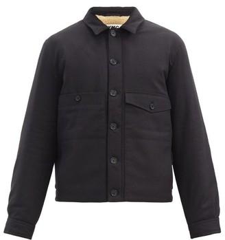 YMC Pinkley Fleece-lined Cotton-blend Canvas Jacket - Black