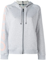 Kenzo logo print hoodie - women - Cotton - S