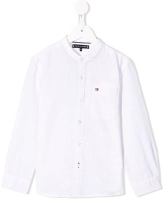 Tommy Hilfiger Junior band collar shirt
