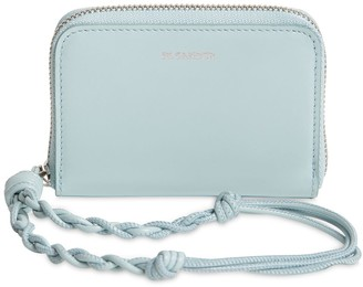 Jil Sander Sm Zip Around Leather Wallet