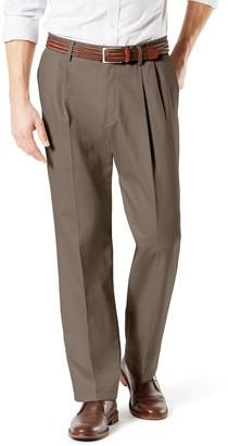 Dockers Big & Tall Signature Khaki Lux Classic-Fit Stretch Pleated Pants