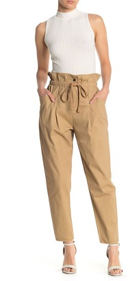 Emory Park High-Waisted Paperbag Pants