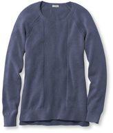 L.L. Bean Cotton Mixed-Stitch Sweater, Pullover