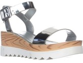 Wanted Baldwin Platform Sandals, Silver.