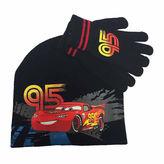 Asstd National Brand 2-pc. Lightning McQueen Beanie and Gloves Set - Preschool Boys 4-7