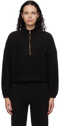 Gil Rodriguez Black Sherpa Diana Half-Zip Sweatshirt