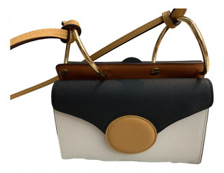 Danse Lente White Leather Handbags