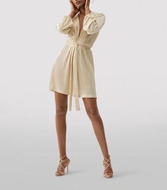 Melissa Odabash Banks Tie Mini Dress