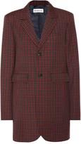Balenciaga Checked wool blazer