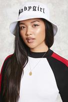 Forever 21 FOREVER 21+ Baby Girl Bucket Hat