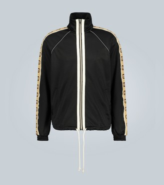 Gucci Oversized technical jersey jacket