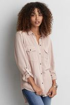 American Eagle Outfitters AE Woven Utility Shirt