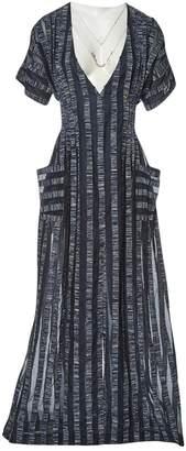 Natasha Zinko Navy Cotton Dresses