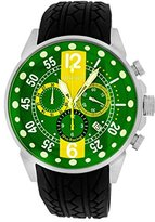 Roberto Bianci Men's 7098mrub-ss_greyel Pro Racing Analog Display Analog Quartz Black Watch